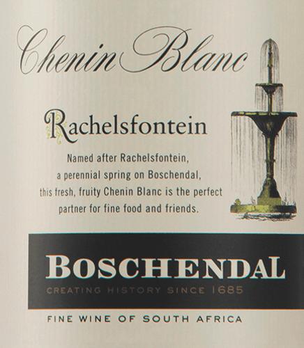 Rachelsfontain Chenin Blanc 2019 - Boschendal von Boschendal