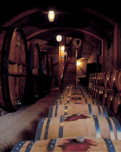Der einzigartige Weinkeller von Bersano
