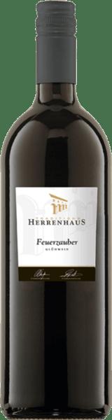 Roter Winzer-Glühwein Herrenhaus Feuerzauber 1,0 l - Lergenmüller