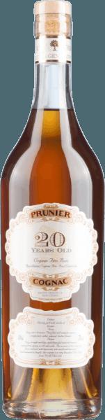 Cognac Fins Bois 20 Years Old - Prunier Cognac
