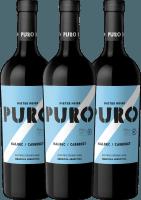 3er Vorteils-Weinpaket - Puro Malbec Cabernet 2018 - Dieter Meier