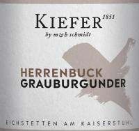 Vorschau: Herrenbuck Grauburgunder Kabinett - Weingut Kiefer