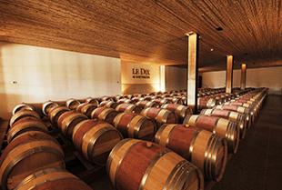 Der Weinkeller von Vina Los Vascos