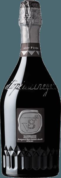 Sior Piero Valdobbiadene Prosecco Superiore Extra Dry DOCG - Vineyards v8+
