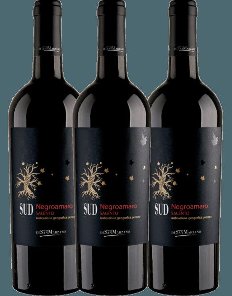 3er Vorteils-Weinpaket - SUD Negroamaro 2019 - Cantine San Marzano