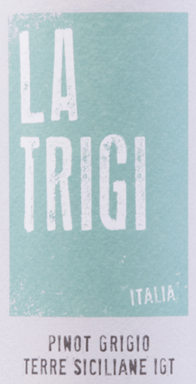 Pinot Grigio Terre Siciliane IGT 1,5 l Magnum 2019 - La Trigi von La Trigi