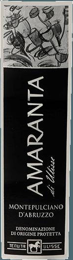 Der AMARANTA di Ulisse Montepulciano d'Abruzzo DOC von Tenuta Ulisse ist ein Cru. Dieser mächtige italienische Rotwein fliesst in einem sehr vollen und eleganten Rubinrot ins Glas. An der Nase zeigt er sehr komplexe und großzügige Duftnoten mit den wunderbaren Anklängen von Pflaumen und Kirschkonfitüre. Untermalt werden diese Fruchtaromen mit Nuancen von Tabak und einem würzigem Nachhall. Am Gaumen ist dieser beeindruckende Montepulciano d'Abruzzo schön ausgewogen und komplex mit gefälligen, pefekt in die Struktur gut eingebundenen Tanninen. Körperreich und kraftvoll ist dieser Rotwein ein wahrer Genuss mit hervorragend ausbalanciertem alkoholisches Potential. Mit einem langen, warmen und opulenten Abgang überzeugt der Amaranta auf ganzer Linie. Ein Wein von unwidersprochener Klasse, eine wunderbare Hommage voller Liebe und Respekt an die bedeutendste Rotwein-Traube der Abruzzen. Beachtenswert ist beim AMARANTA di Ulisse, ebenso wie bei den anderen Weinen der Tenuta Ulisse, das exzellente Preis-Leistungs-Verhältnis. Vinifikation des Amaranta di Ulisse von Tenuta Ulisse Die Trauben für diesen Cru Montepulciano d'Abruzzo wachsen in sehr alten Weinbergen an ebenso alten Reben, die im Durchschnitt 30-35 Jahre lang schon ihre Wurzeln in den kalkhaltigen, feinen Lehmboden graben konnten. Die sehr warme Umgebung und geringe Niederschläge sowie starken Schwankungen zwischen Tag- und Nachttemperaturen sorgen dafür, dass die Trauben gut reifen können, dabei aber nicht ihre Säure einbüßen. Nach der hochselektiven Handlese, ein Teil wird für den Amaranta überreif gelesen, werden die Trauben in der Kellerei von Tenuta Ulisse aufgebrochen, eingemaischt und der Most temperaturkontrolliert vergoren. Anschließend reift der Amaranta für 9 bis 12 Monate in hochwertigen Barriques aus französischer und amerikanischer Eiche. Die autochtone Rebsorte Montepulciano d'Abruzzo hat in den vergangenen Jahren eine echte Renaissance erlebt. Über die Ursprünge dieser dunklen Traube weiß man bis he