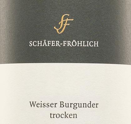 Weißburgunder trocken 2018 - Schäfer-Fröhlich von Schäfer-Fröhlich