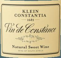 Vorschau: Vin de Constance 0,5 l 2017 - Klein Constantia