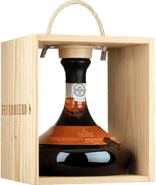 Forty Years Old Port Decanter - Feuerheerd's