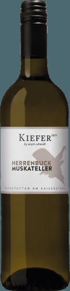 Herrenbuck Muskateller Kabinett halbtrocken 2019 - Weingut Kiefer