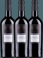 3er Vorteils-Weinpaket - Primitivo di Manduria DOC 2017 - Conte di Campiano