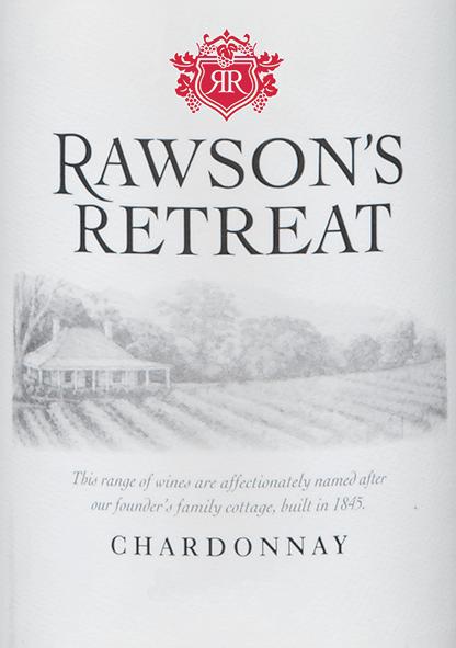 Der Chardonnay von Rawson's Retreat ist ein rebsortenreiner, fruchtiger Weißwein aus dem australischen Weinanbaugebiet South Australia. Im Glas schimmert dieser Wein in einem hellen Goldgelb mit glitzernden Schattierungen. Das Bouquetumschmeichelt die Nase mit den saftigen Aromen von süßen Melonen und gelbem Pfirsich. Auch am Gaumen präsentiert sich die tropische Aromatik der Nase. Die fein-cremige Textur verleiht diesem australischen Wein seine wundervolle Struktur. Ein wundervoll zugänglicher Weißwein, der Trinkvergnügen bereitet. Speiseempfehlung für den Rawson's Retreat Chardonnay Genießen Sie diesen trockenen Weißwein aus Australien zu knackigem Salat mit Hähnchenbrust, asiatischen angehauchten Gerichten (insbesondere Speisen mit süß-saurem Chutney) oder auch Solo ein wunderbarer Genuss.