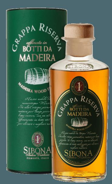Grappa Riserva Botti da Madeira - Sibona