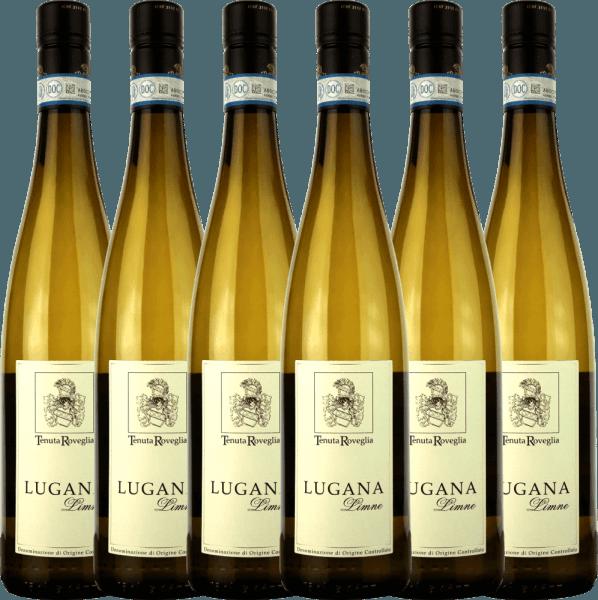 6er Vorteils-Weinpaket - Limne Lugana DOC 2020 - Tenuta Roveglia