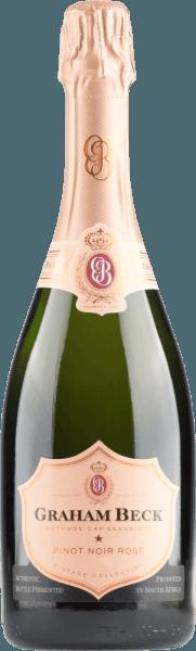 Cap Classique Brut Rosé Vintage 2015 - Graham Beck von Graham Beck Wines