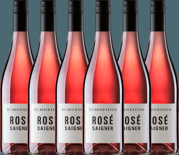 6er Vorteils-Weinpaket - Saigner Rosé trocken 2020 - Markus Schneider