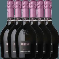 6er Vorteils-Weinpaket - Motivo Rosé extra dry - Borgo Molino
