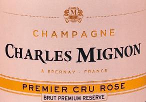 Brut Rosé Premium Réserve Champagne AOC - Charles Mignon von Champagne Charles Mignon