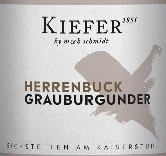 Herrenbuck Grauer Burgunder Kabinett 2019 - Weingut Kiefer von Weingut Kiefer