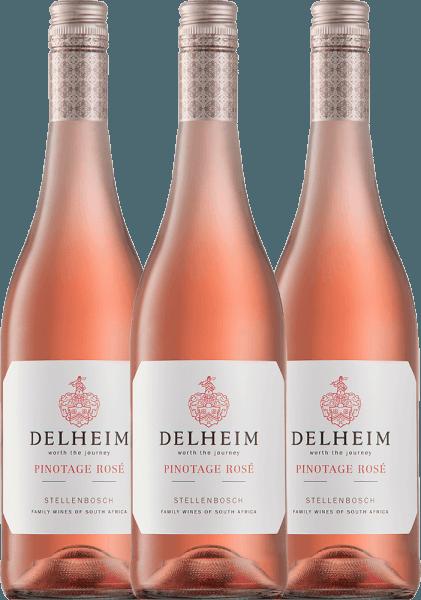 3er Vorteils-Weinpaket - Delheim Pinotage Rosé 2020 - Delheim