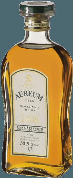 Gibt man ihm im Glas durch Schwenken etwas Luft, so Speiseempfehlung zum Ziegler Aureum 1865 Fassstärke Single Malt Whisky zu