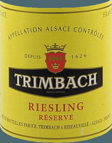 Riesling Réserve 2019 - F.E. Trimbach von Trimbach