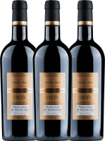 3er Vorteils-Weinpaket - Primitivo di Manduria Riserva DOC 2016 - Conte di Campiano