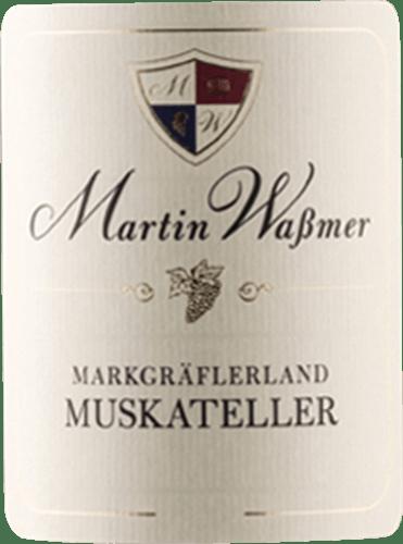 Markgräflerland Muskateller Kabinett 2018 - Martin Waßmer von Martin Waßmer
