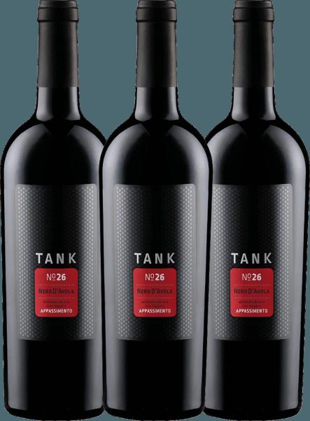 3er Vorteils-Weinpaket - TANK No 26 Nero d'Avola Appassimento IGT 2019 - Cantine Minini