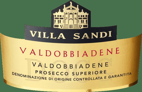 Mit dem Villa Sandi Prosecco Superiore Valdobbiadene Spumante Extra Dry kommt ein erstklassiger Prosecco Spumante ins Weinglas. Hierin präsentiert er eine wunderbar brillante, platingelbe Farbe. Im Zentrum zeigt dieser Prosecco Spumante eine ausdrucksstarke Farbe. Das Bukett Prosecco Spumante aus Venetiens zieht mit Aromen von Zitronengras, Zitrone, Lavendel und Maulbeere in den Bann.Gerade seine fruchtbetonte Art macht diesen Wein so besonders. Der Villa Sandi Prosecco Superiore Valdobbiadene Spumante Extra Dry offenbart uns auf der Zunge einen unglaublich fruchtbetonten Geschmack, was natürlich auch auf sein restsüßes Geschmacksprofil zurückzuführen ist. Leichtfüßig und komplex präsentiert sich dieser leichte und samtige Prosecco Spumante am Gaumen. Durch die ausgeglichene Fruchtsäure schmeichelt der Prosecco Superiore Valdobbiadene Spumante Extra Dry mit gefälligem Gaumengefühl, ohne es dabei an Frische missen zu lassen. Das Finale dieses reifungsfähigen Prosecco Spumante aus der Weinbauregion Venetien überzeugt schließlich mit schönem Nachhall. Vinifikation des Prosecco Superiore Valdobbiadene Spumante Extra Dry von Villa Sandi Der elegante Prosecco Superiore Valdobbiadene Spumante Extra Dry aus Italien ist ein reinsortiger Schaumwein, hergestellt aus der Rebsorte Glera. Nach der Handlese gelangen die Trauben umgehend in die Kellerei. Hier werden Sie sortiert und behutsam gemahlen. Es folgt die Gärung im Edelstahltank bei kontrollierten Temperaturen. Nach ihrem Ende kann sich der Prosecco Superiore Valdobbiadene Spumante Extra Dry für einige Monate auf der Feinhefe weiter harmonisieren.. Speiseempfehlung für den Prosecco Superiore Valdobbiadene Spumante Extra Dry von Villa Sandi Dieser Prosecco Spumante aus Italien sollte am besten sehr gut gekühlt bei 5 - 7°C genossen werden. Er eignet sich perfekt als Begleiter zu Bratäpfel mit Joghurtsauce, Birnen-Limetten-Strudel oder Mandelmilch-Gelee mit Litschis. Prämierungen für den Prosecco Superiore Valdobbiadene Spuma