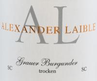 Vorschau: Grauburgunder SC trocken 2020 - Alexander Laible