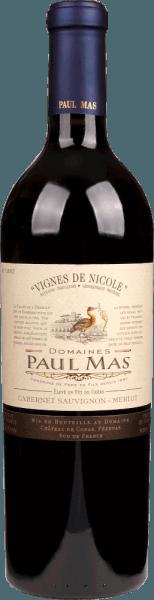 Vignes de Nicole Cabernet Sauvignon Merlot Pays 1,5 l Magnum 2018 - Domaine Paul Mas