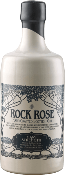 Rock Rose Navy Strength Gin - Dunnet Bay Distillery
