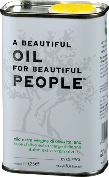 Olio Extra Vergine di Oliva Beautiful Oil for... 0,25 l - Cufrol