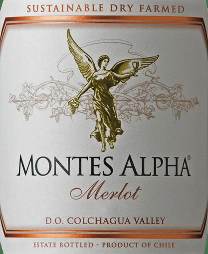 Montes Alpha Merlot 2018 - Montes von Montes Chile