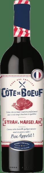 Cote de Boeuf Rouge Syrah-Marselan 2020 - Les Grands Chais de France