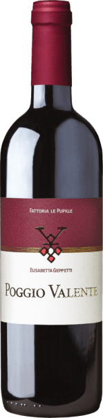 Poggio Valente Rosso Toscana IGT 3,0 l Doppelmagnum 2017 - Le Pupille von Fattoria Le Pupille