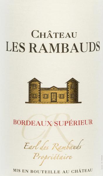Château Les Rambauds Bordeaux Supérieur AOC 2017 - Yvon Mau von Yvon Mau