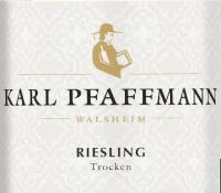 Vorschau: Riesling trocken 1,0 l 2020 - Karl Pfaffmann