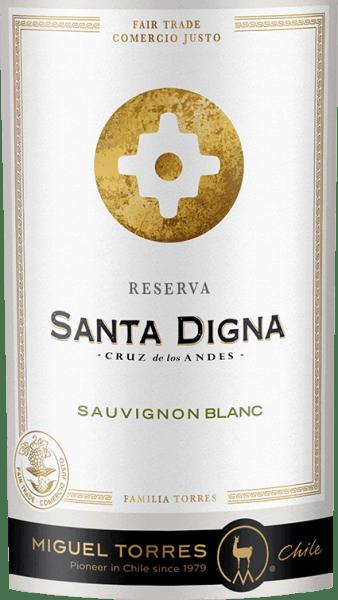 Santa Digna Sauvignon Blanc Reserva 2019 - Miguel Torres Chile von Miguel Torres Chile