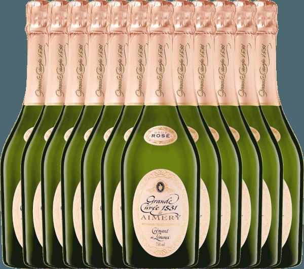 12er Vorteilspaket - Aimery Grande Cuvée 1531 Rosé Crémant Brut - Sieur d'Arques