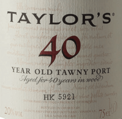 Tawny 40 Years Old - Taylor's Port von Taylor's Port