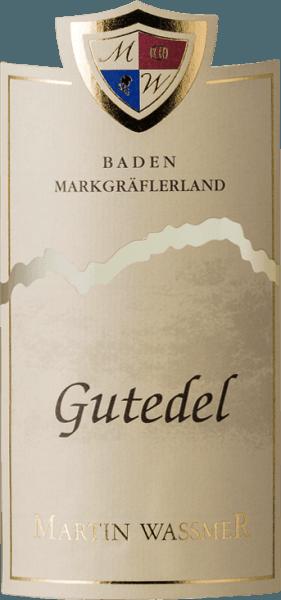 Markgräflerland Gutedel trocken 2019 - Martin Waßmer von Martin Waßmer