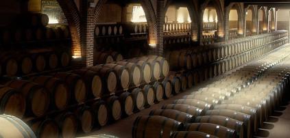 Im klimatisierten Weinkeller von Marqués de Griñón reifen die Rotweine.