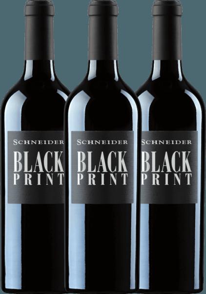3er Vorteils-Weinpaket - Black Print trocken 2019 - Markus Schneider