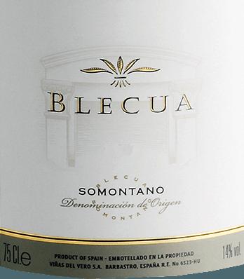 Blecua DO 2009 - Viñas del Vero von Viñas del Vero