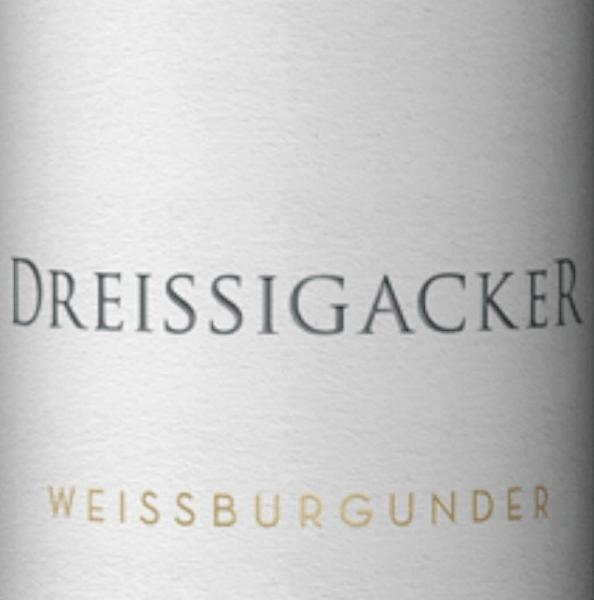 Weißburgunder trocken 2019 - Dreissigacker von Dreissigacker