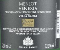 Vorschau: Merlot DOC Venezia 2019 - Villa Sandi