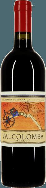 Der Valcolomba Merlot von Carpineto entsteht in der Maremma, dem berühmten Mittelmeer-Küstenstreifen der Toskana. Pure Freude bringt dieser sortenreine Merlot ins Glas, in dem der Rotwein intensiv rubinrot leuchtet. Das Bouquet begeistert mit weinig-saftigen Aromen von reifen Kirschen, Brombeeren und anderen dunklen Beerenfrüchten.  Am Gaumen ist der Carpineto Valcolomba Merlot herrlich weich, rund und elegant strukturiert. Ein kleiner Supertuscan, der sowohl pur als auch in Begleitung würziger Speisen eine sehr gute Figur macht. Im Finale erfreut dieser Maremma-Merlot mit weichen Tanninen und einer gut strukturierten Fruchtsäure.  Wie wird der Valcolomba Merlot von Carpineto vinfiziert?  Die Merlot-Trauben werden eingemaischt und für 15 Tage mazeriert. Anschließend erfolgt die Gärung beim 28°C und regelmäßigem umwälten des Tresterhutes und belüften des Weines. Nach der biologischen Säureumwandlung des Valcolomba Merlots wird der Wein in Betontanks umgefüllt, in denen er sich bis zur Abfüllung harmonisieren kann.  Was isst man zum Valcolomba Merlot?  Dieser Merlot aus der Maremma ist ein perfekter Speisebegleiter zu gegrilltem Schwein oder Geflügel, zu Pizza mit würzigen Saucen und Salami oder zu Braten.